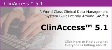 ClinAccess, Clinical Data Managment System
